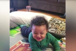 Is there a purer sound than a baby's laughter?