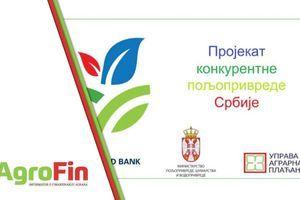 "Prijave za bespovratna sredstva ""Projekta za konkurentnu poljoprivredu"" do 4. juna"