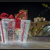 Χριστουγεννιάτικος στολισμός στον Δ. Νίκαιας – Αγ. Ι. Ρέντη