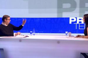 Predsednik Vučić otkrio koga smatra najozbiljnijim protivnikom na izborima