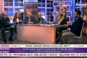 """""""KAKO GA NIJE SRAMOTA?!"""" Milica Đurđević besnela u jutarnjem: Došao je u pocepanim farmerkama i bez zuba na vlast, a sad ima milione i obezbeđenje države koju pljuje!"""