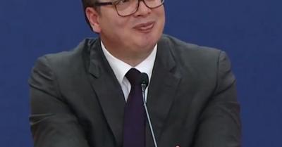 Vučić odgovarao na pitanja, a onda je Dačić dobacio: Pa, ja tamo bio i video da to nije dobro... Svi prasnuli u smeh!