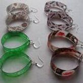 Σκουλαρίκια από πλαστικά μπουκάλια