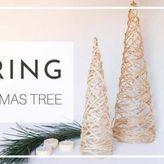 Χριστουγεννιάτικο δέντρο από σπάγκο