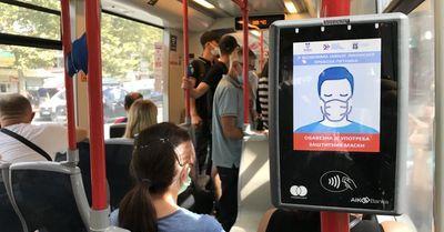 Vesić: Obezbeđenje u javnom prevozu nema pravo da legitimiše građane