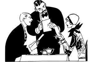 Bonton u restoranu