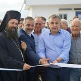 Εγκαινιάστηκε το «Παπατζιρίτειο γήπεδο» από τον Περιφερειάρχη Κρήτης και τον Δήμαρχο Οροπεδίου Λασιθίου