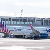 Στο Ηράκλειο Κρήτης η πρώτη τιμητική, πτήση για το νέο Airbus A320neo της SKY express