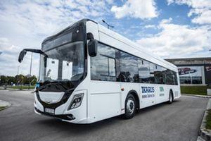 Bemutatták a legújabb elektromos Ikarus-buszt