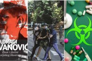 Veliki poklon svim čitaocima: Knjiga o Dragom Jovanoviću, srpskom Huveru; Neredi u doba pandemije: Buka i bes; Da li je virus zaista oslabio – Izašao je novi Nedeljnik