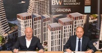 Počinju glavni radovi na još dve stambene zgrade Belgrade Waterfront-a