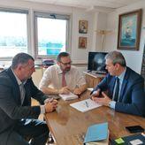 Συνάντηση του Γενικού Γραμματέα του ΕΟΤ Δημήτρη Φραγκάκη με τον Γενικό Γραμματέα Ναυτιλίας & Λιμενικών Υποδομών