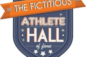 We announce the Semi-Finalists for the Fictitious Athlete Hall of Fame