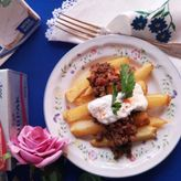 Τηγανητές πατάτες με κιμά