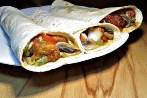 Tortilly s rybím masem II.