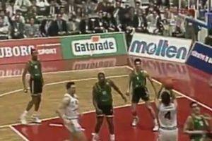 NEMOJTE SE LJUTITI ŠTO SAM ZAĆUTAO NA TRENUTAK: Pre 29 godina Partizan je pokorio Evropu (VIDEO)