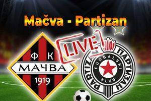 SUPERLIGA SRBIJE: Mačva - Partizan (UŽIVO)
