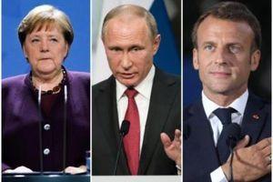 Zvanični Kremlj uoči sastanka u Jelisejskoj palati: Merkel i Makron da ubede Zelenskog da OBUSTAVI PROVOKACIJE