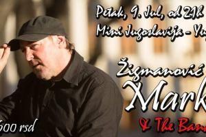 Koncert Marka Žigmanovića u Mini Jugoslaviji