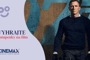 Súťaž o 2 vstupenky na filmovú premiéru Jamesa Bonda