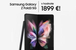 Súťaž o Samsung Galaxy Z Fold 3 5G v hodnote 1899€