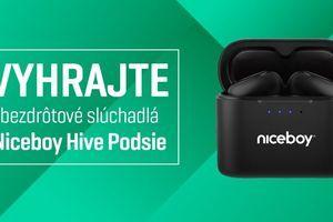 Vyhrajte bezdrôtové slúchadlá Niceboy HIVE Podsie