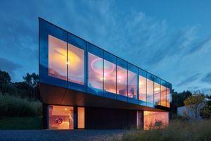 Dom s nevšedným výhľadom a unikátnym architektonickým stvárnením