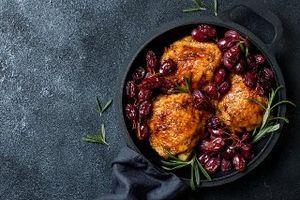 Recept za ukusnu piletinu sa crvenim grožđem