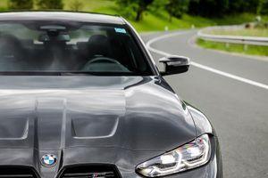 Vozili smo avto. Ime mu je BMW M3.